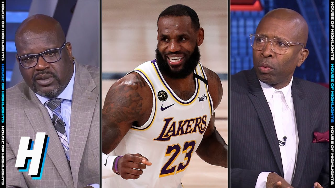 Inside the NBA Reacts to Lakers vs Rockets - Game 3 ...